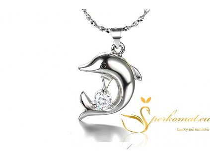 přívěšek delfín