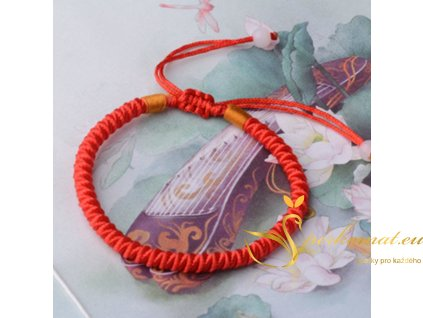 Ručně pletený náramek s korálky1