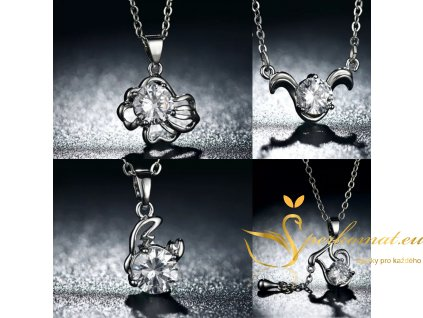 Krásné náhrdelníky znamení zvěrokruhu