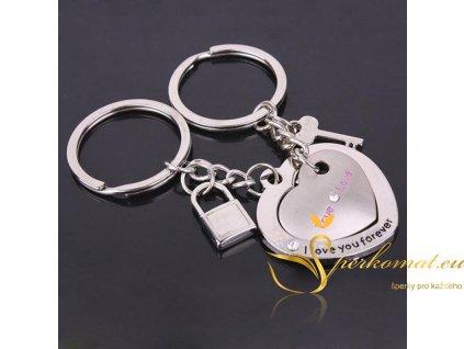 Přívěšek na klíče pro zamilované