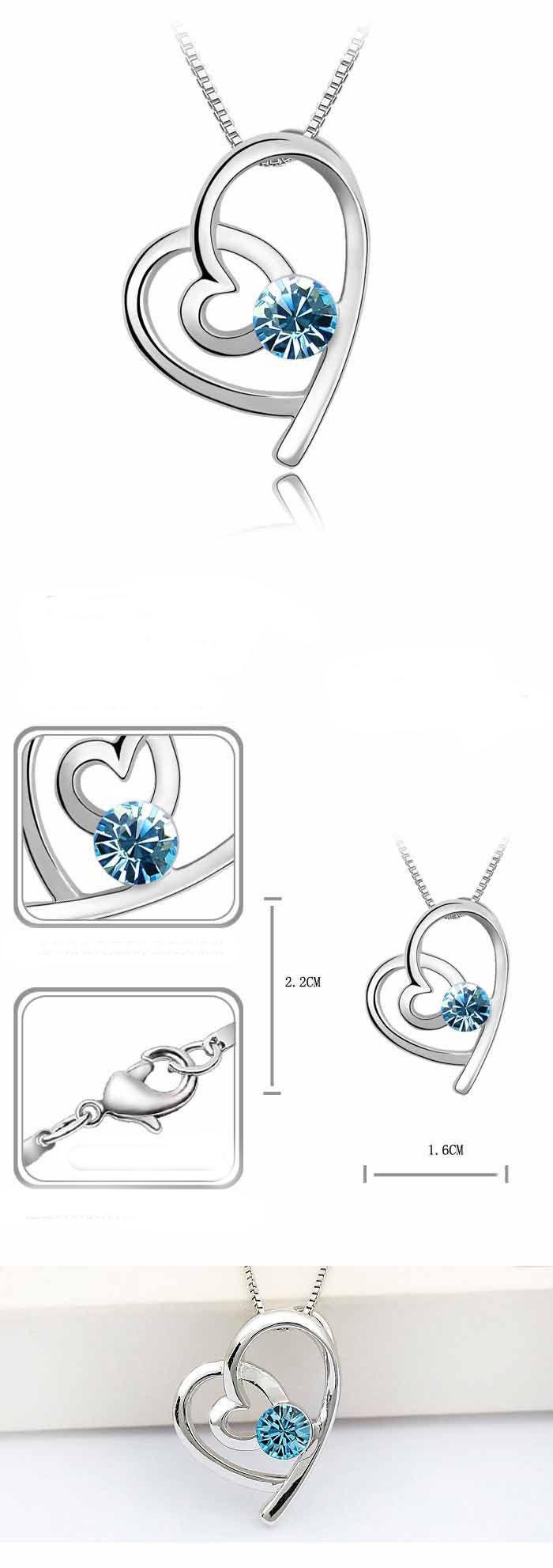 Sety šperků pro zamilované vhodné jako dárek z lásky,nebo k Valentýnu Barva: Modrá