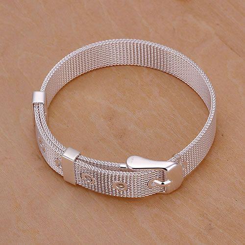 Luxusní stříbrný pásek na ruku
