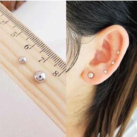 Elegantní magnetické náušnice (piercing) 3mm