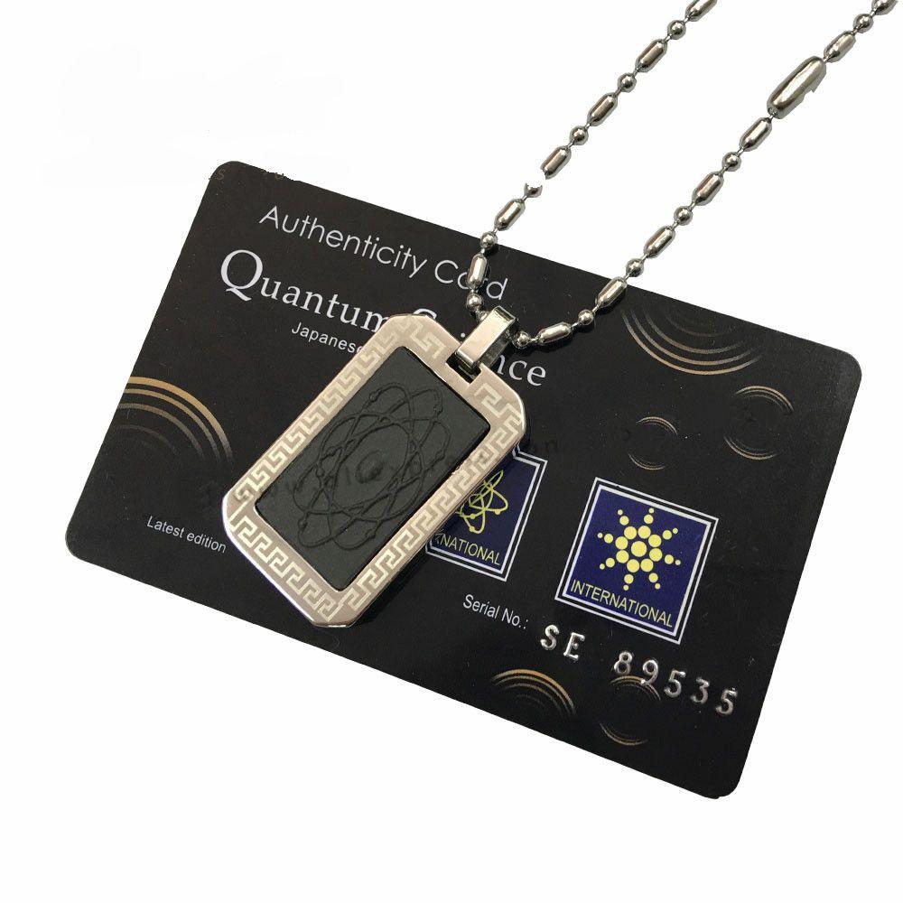 Luxusní kvantový skalární energetický přívěšek psí známka