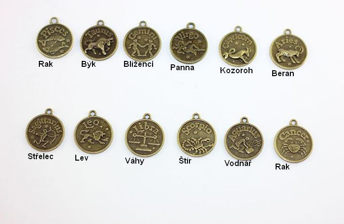 Přírodní náramek znamení zvěrokruhu Znamení zvěrokruhu: Váhy
