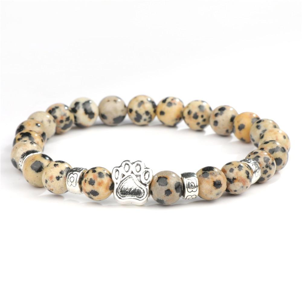 Náramky z přírodních kamenů pro milovníky koček a psů Varianta: 4