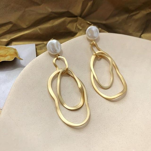 Náušnice s perlou (S)