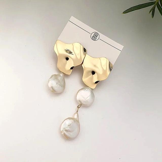 Náušnice s perlou (R)