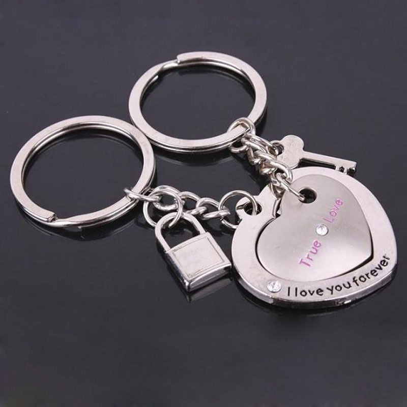 Sada přívěšků na klíče. Láska navždy