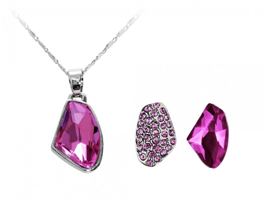 Set náhrdelníku a náušnic Rosalia
