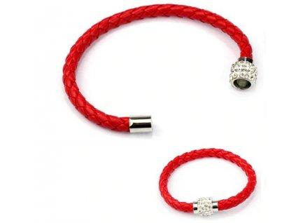 naramek cerveny magnet