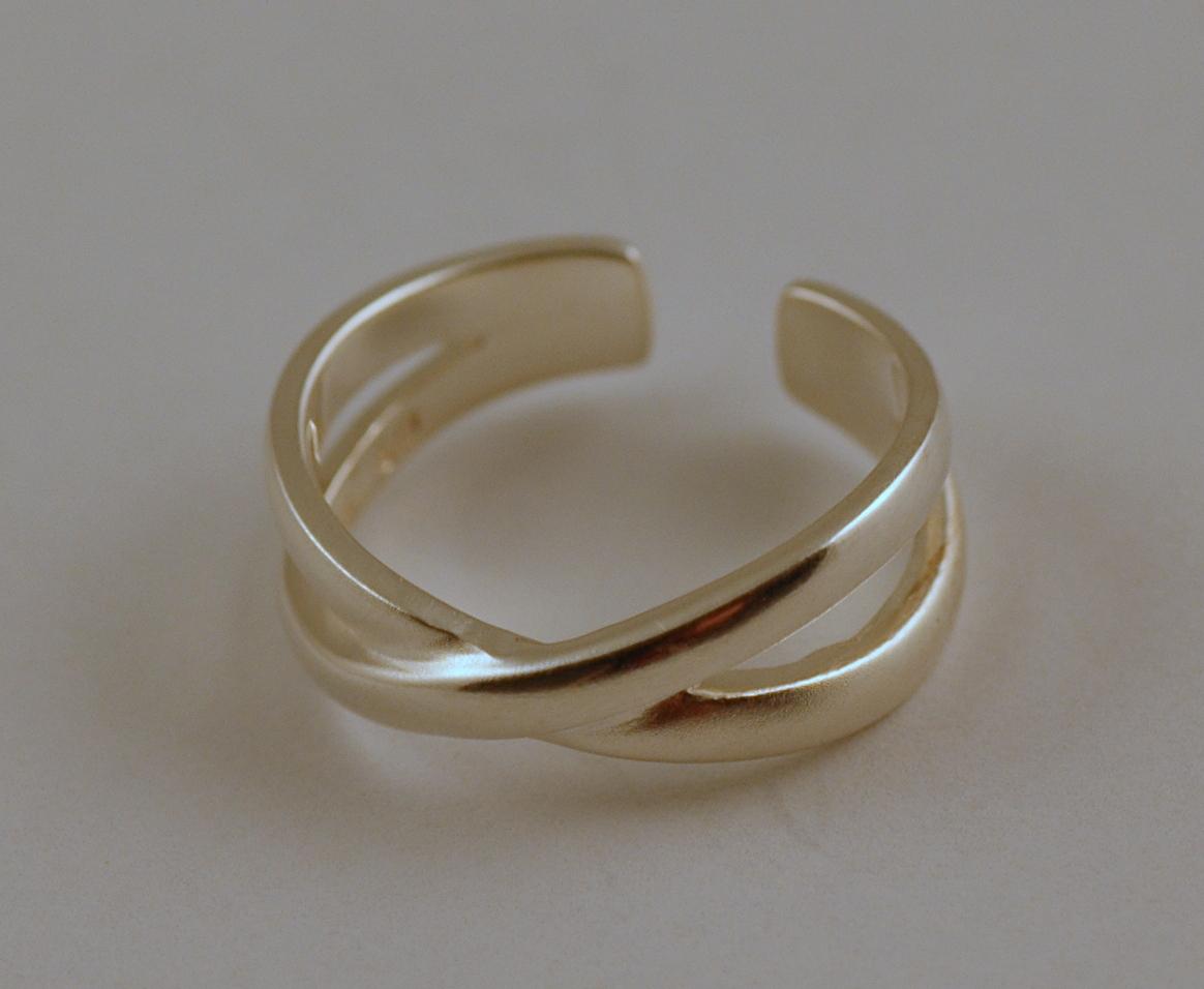 Prsteny na nohu, stříbrné prsteny na nohu