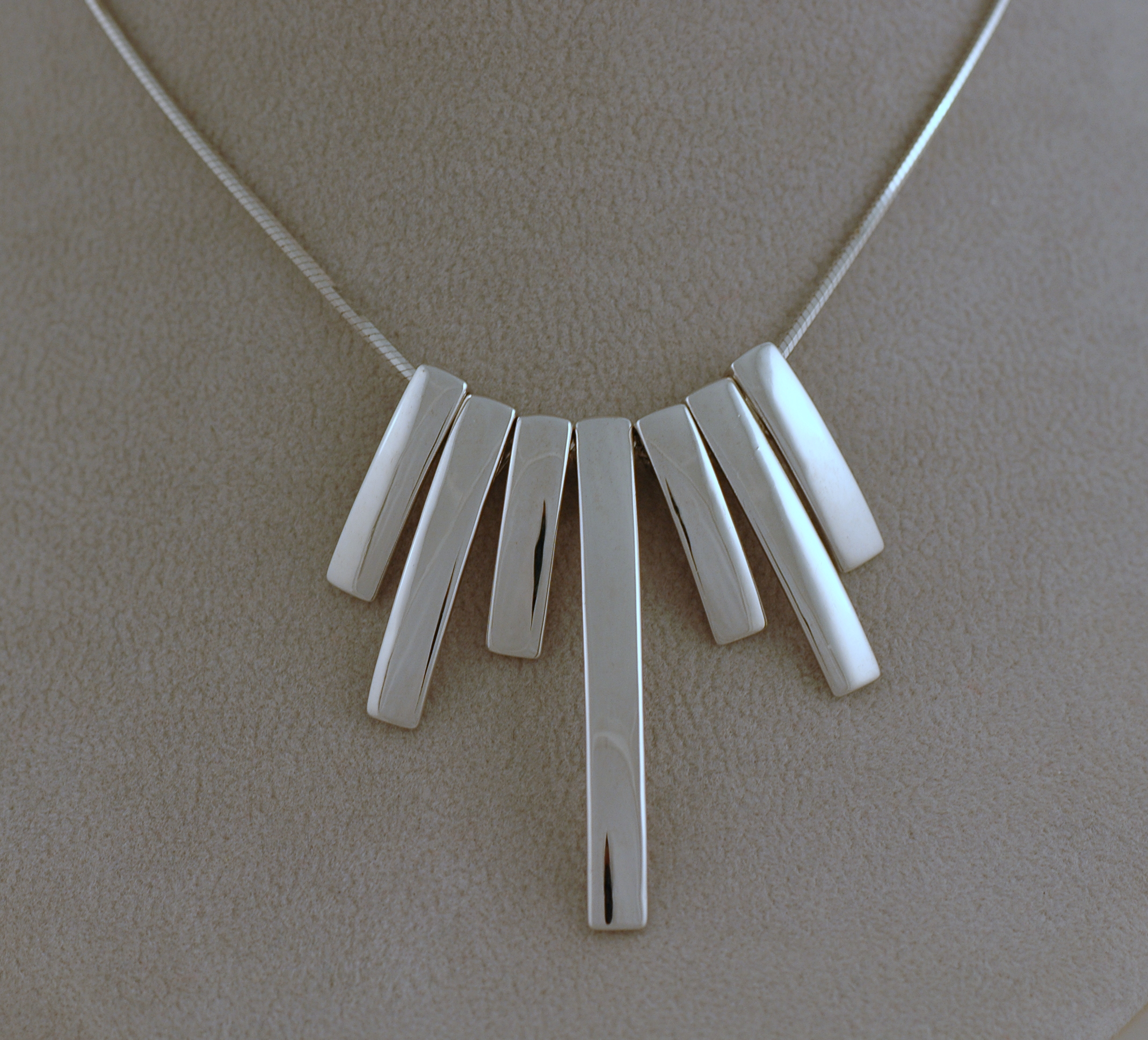 Náhrdelníky, stříbrné náhrdelníky