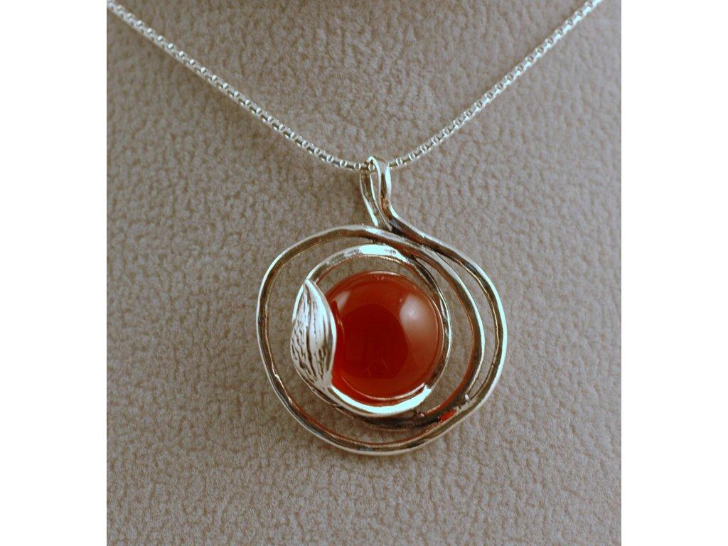 Stříbrný náhrdelník Karmen