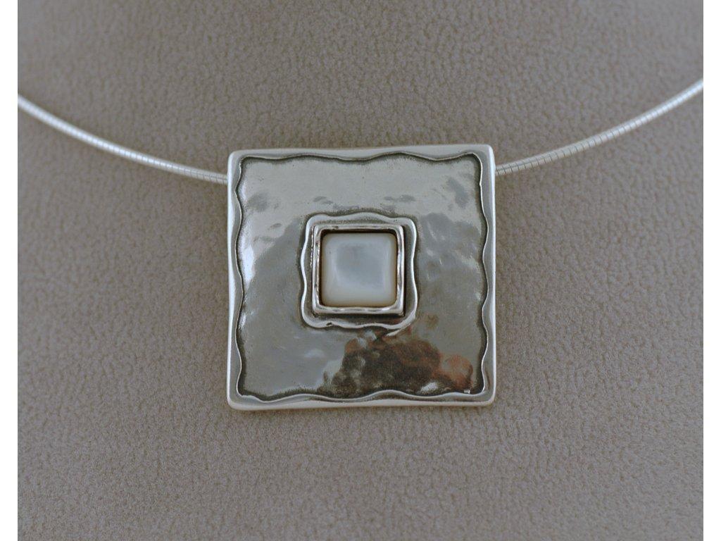 Stříbrný náhrdelník Bianka