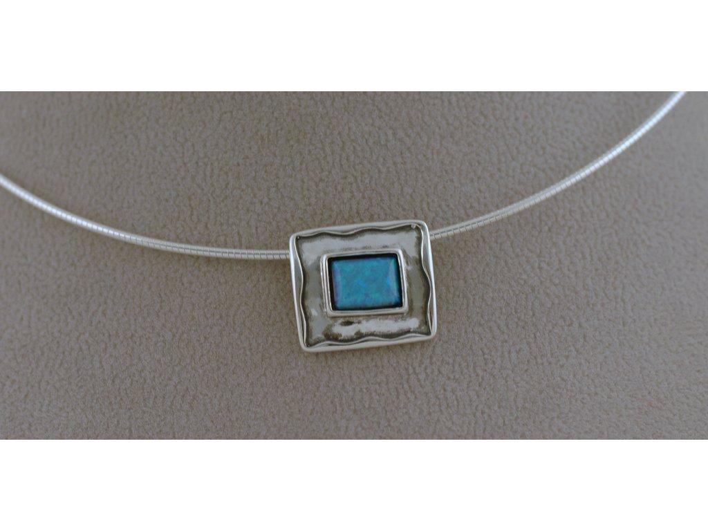 Stříbrný náhrdelník Azra 2