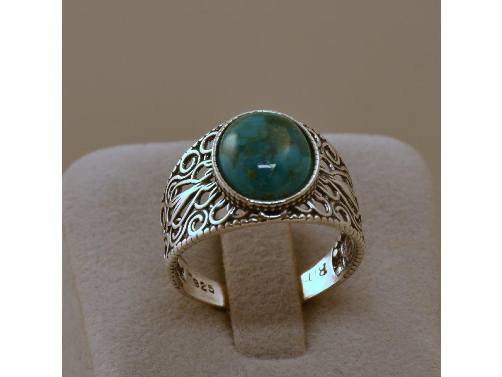Stříbrný prsten Beáta