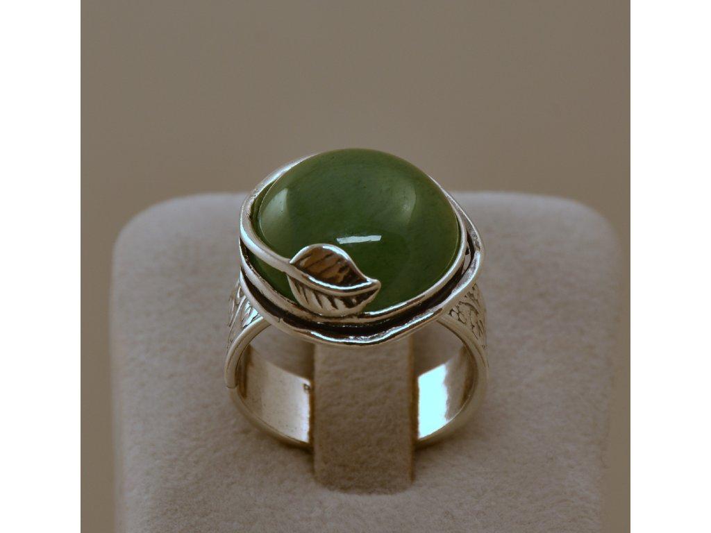 Stříbrný prsten Melanie
