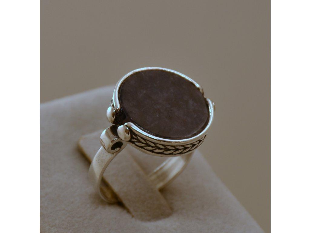 Stříbrný prsten Nala Sodalit