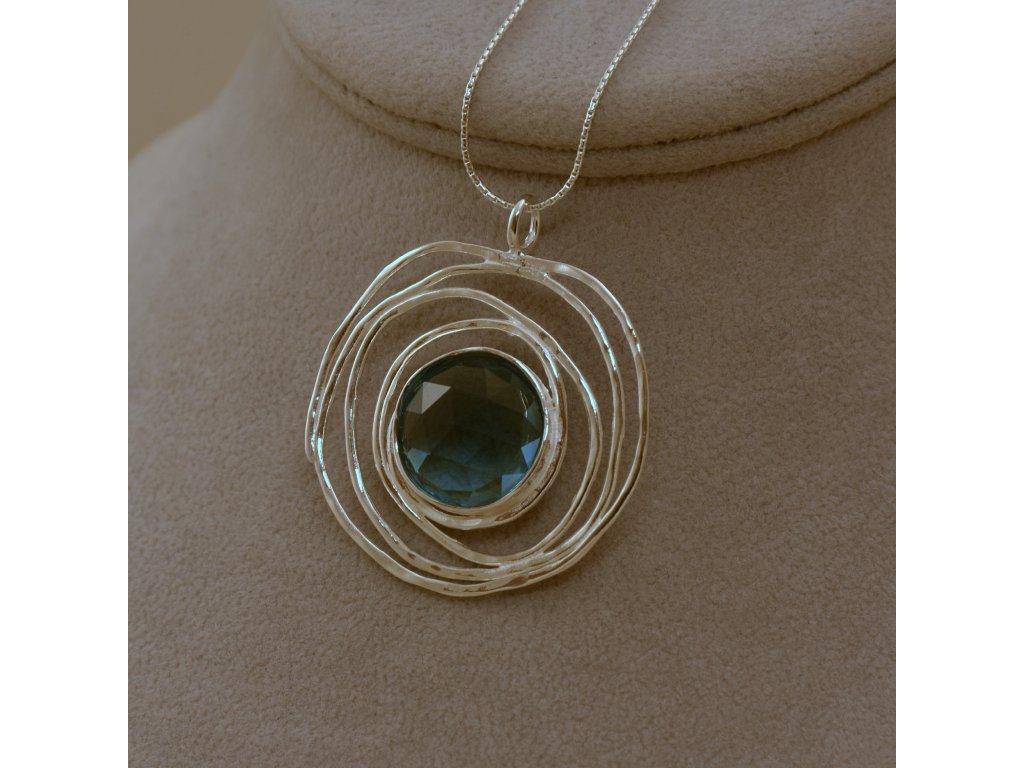 Stříbrný náhrdelník Elen