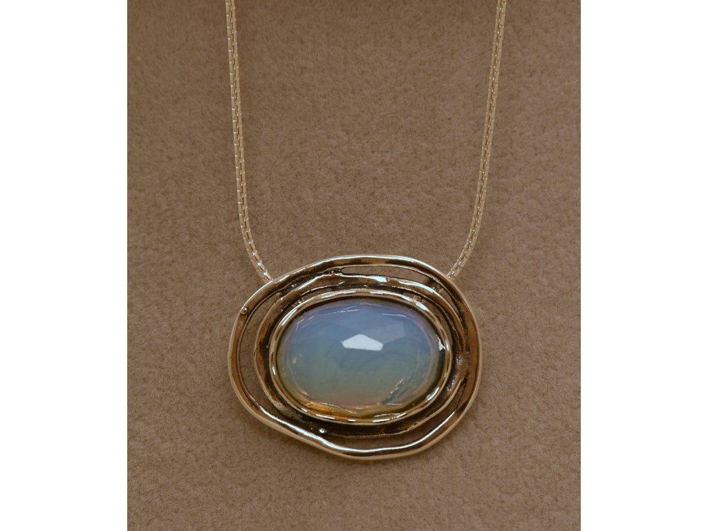 Stříbrný náhrdelník Lola