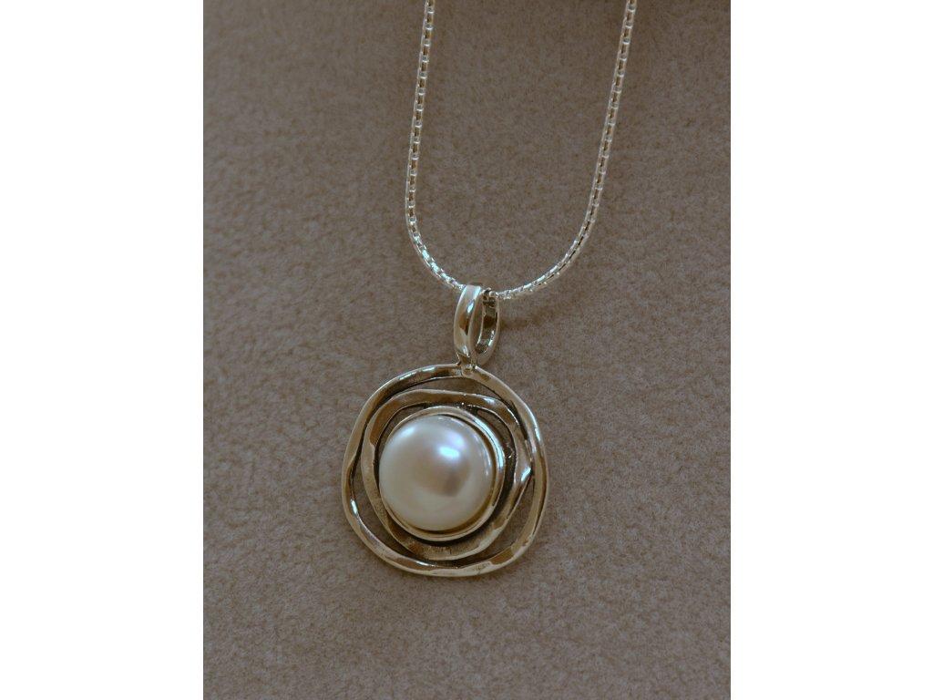 Stříbrný náhrdelník Mia