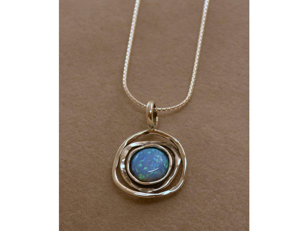 Stříbrný náhrdelník Ola