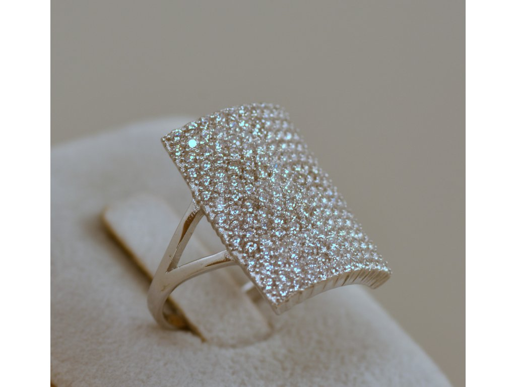Stříbrný prsten Charlie
