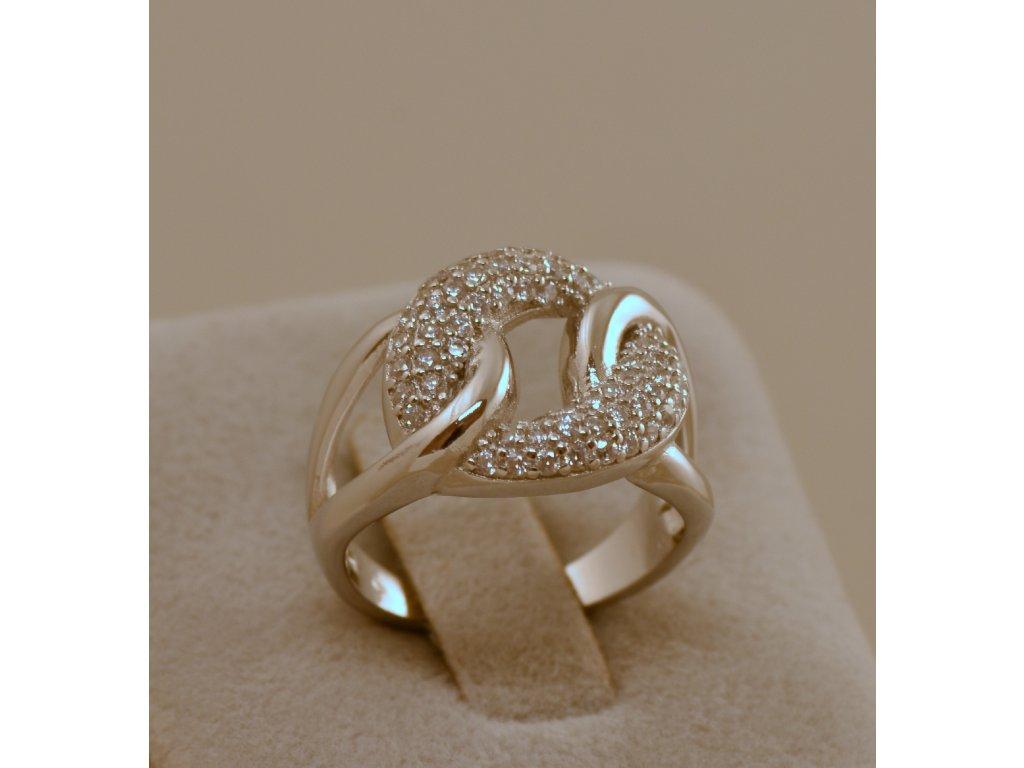Stříbrný prsten Gina