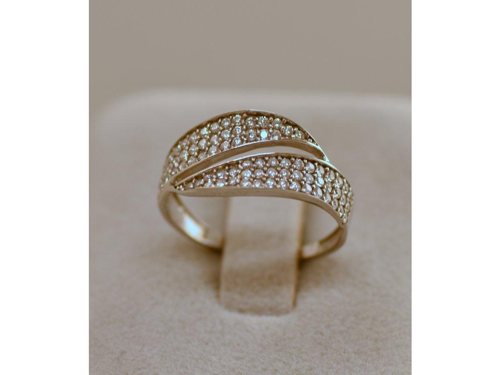 Stříbrný prsten Alice