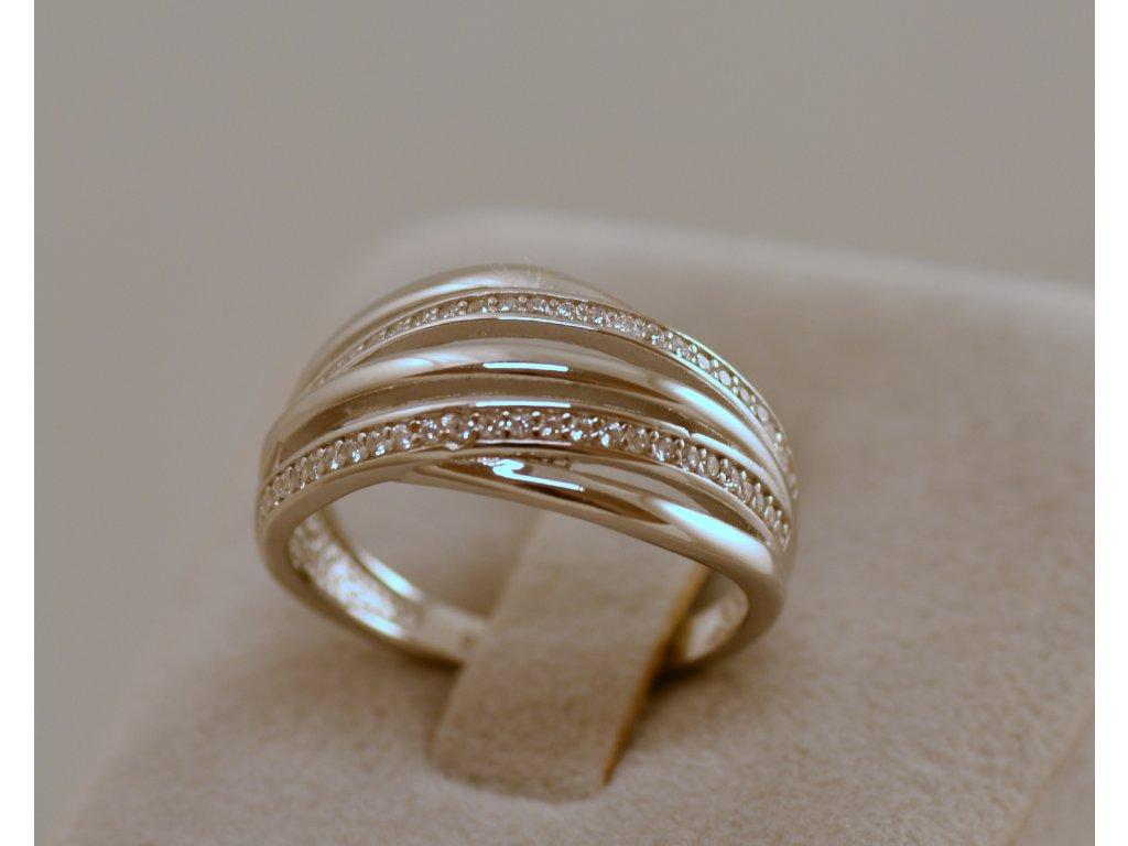 Stříbrný prsten Bona