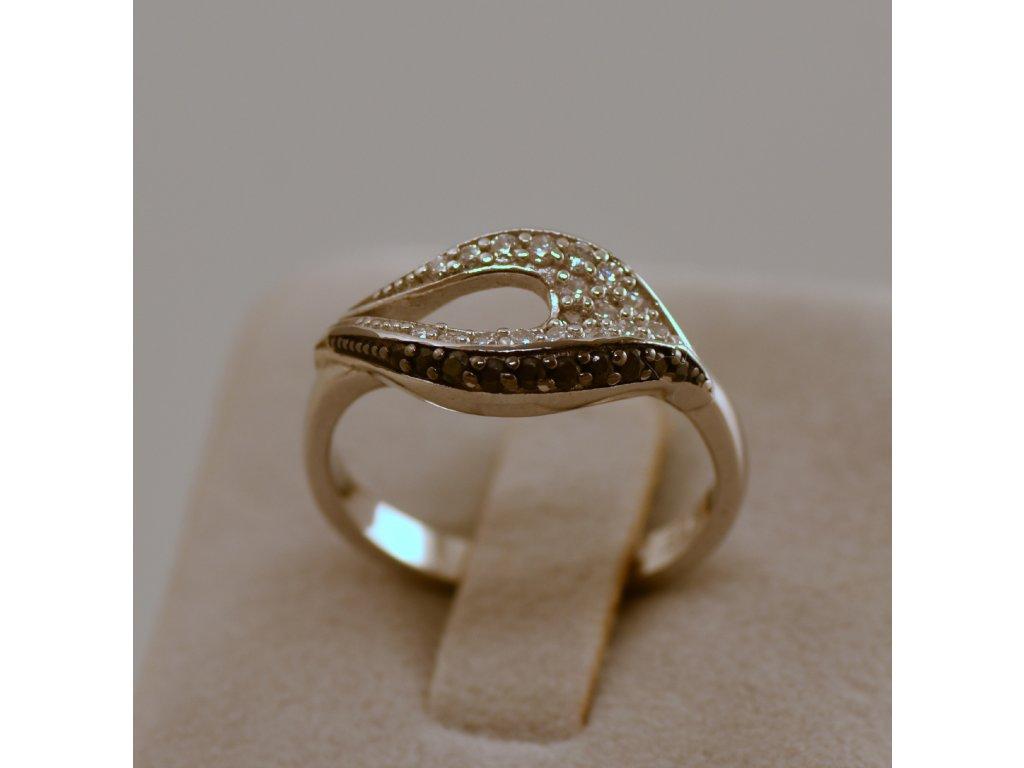 Stříbrný prsten Clara