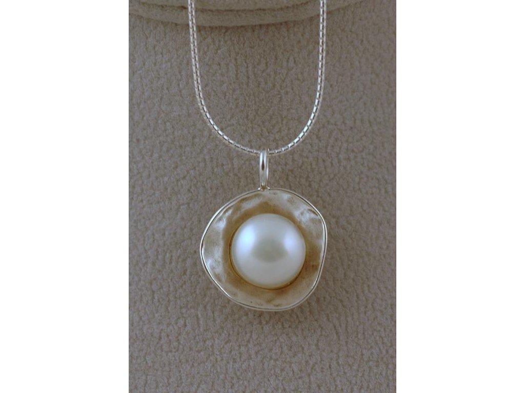 Stříbrný náhrdelník Bela