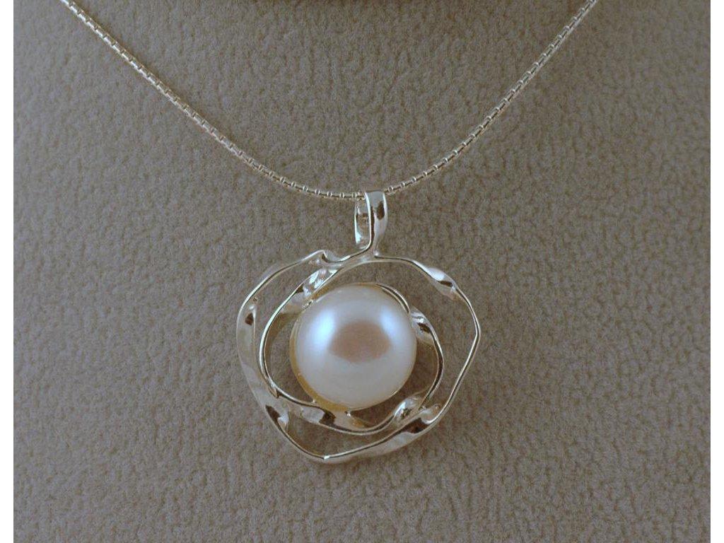 Stříbrný náhrdelník Loretta
