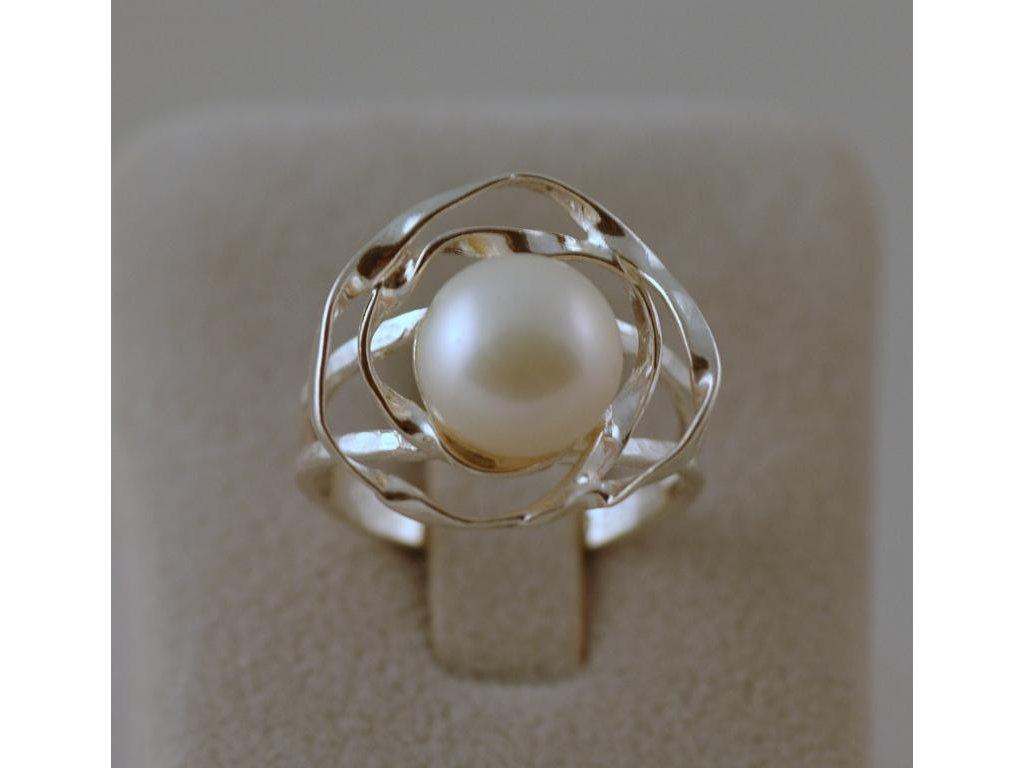 Stříbrný prsten Loretta