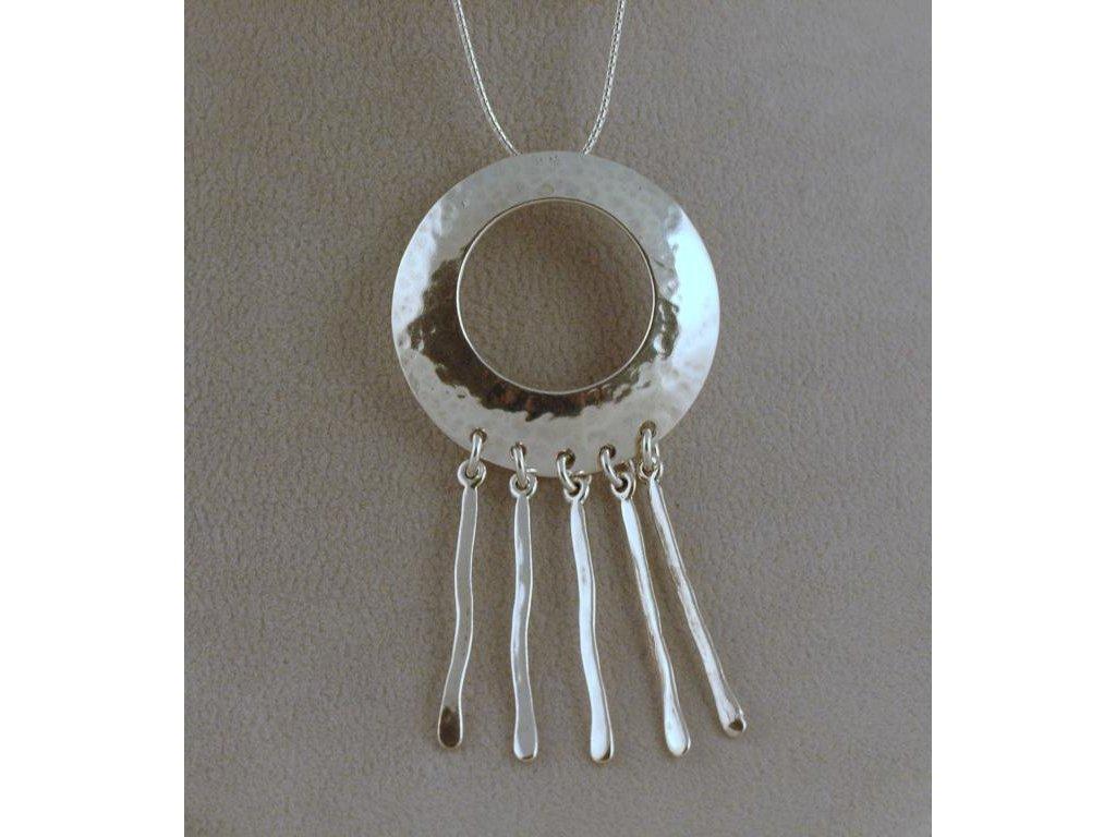 Stříbrný náhrdelník Arieta
