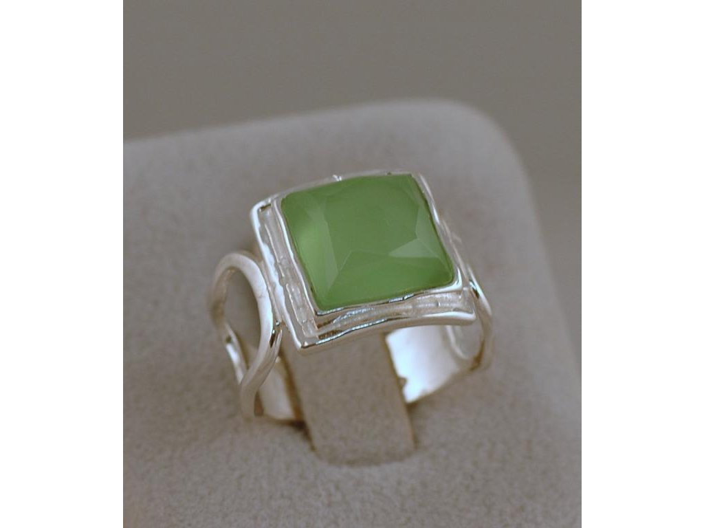 Stříbrný prsten Natanaela