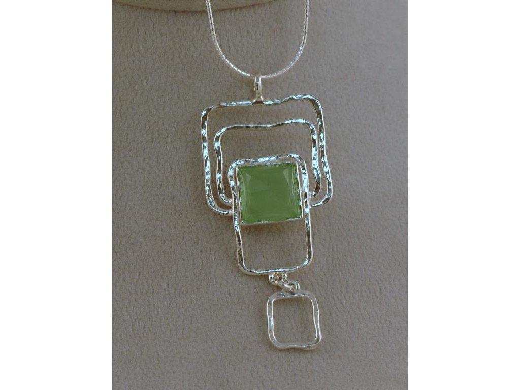 Stříbrný náhrdelník Natanaela