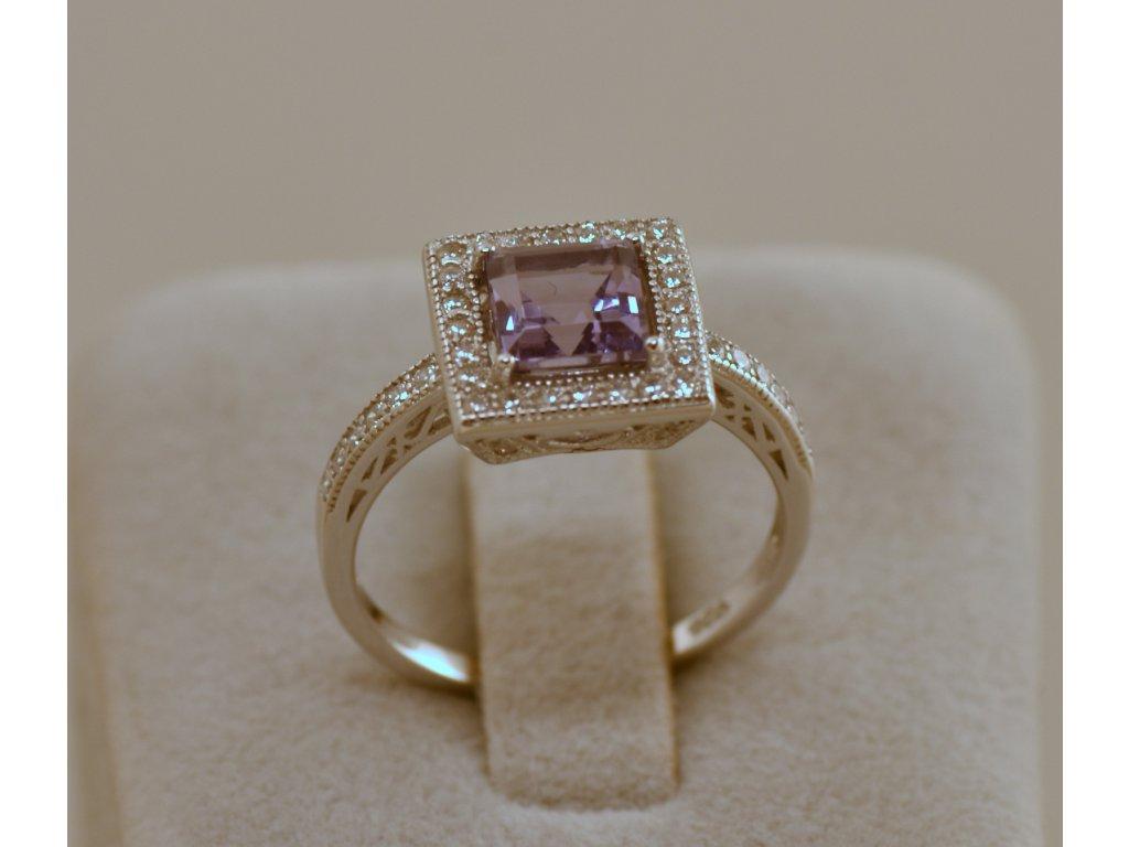 Stříbrný prsten Sofie