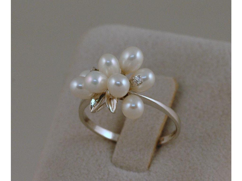 Stříbrný prsten Elisa