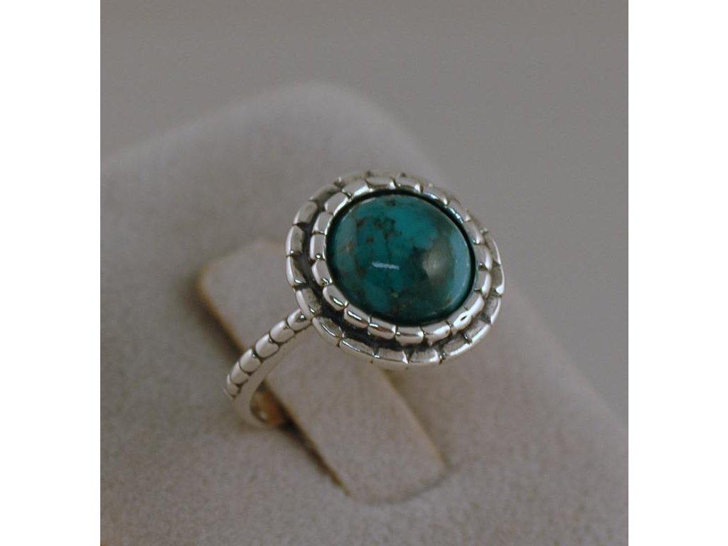 Stříbrný prsten Elfrída