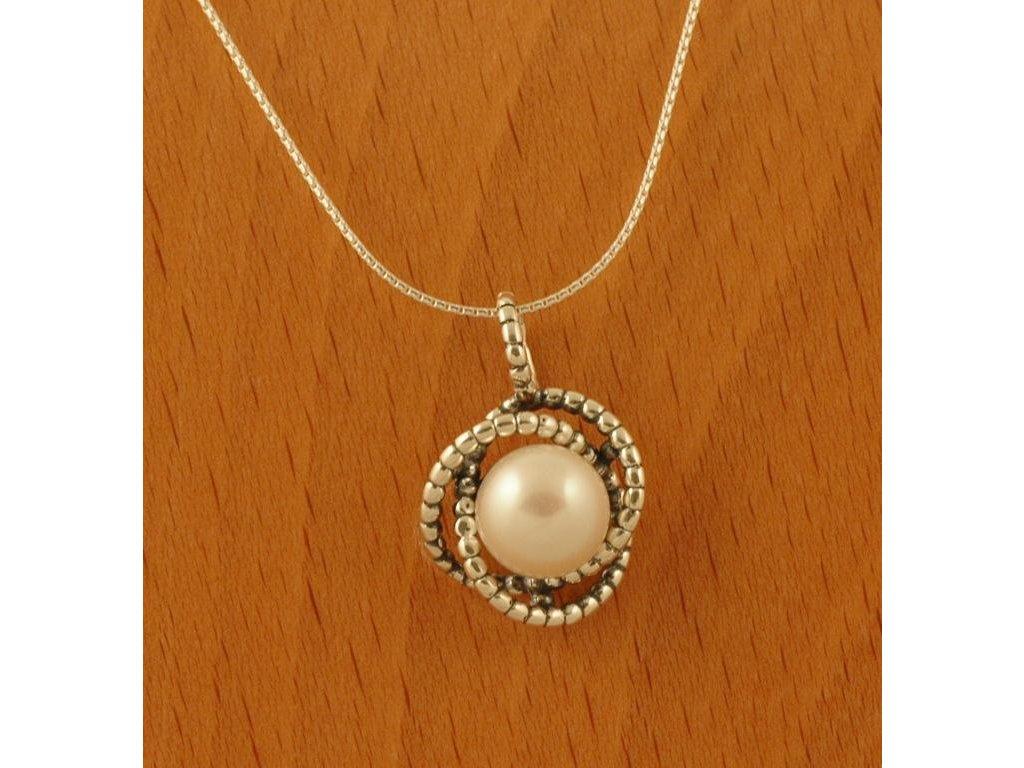 Stříbrný náhrdelník Dulcinea