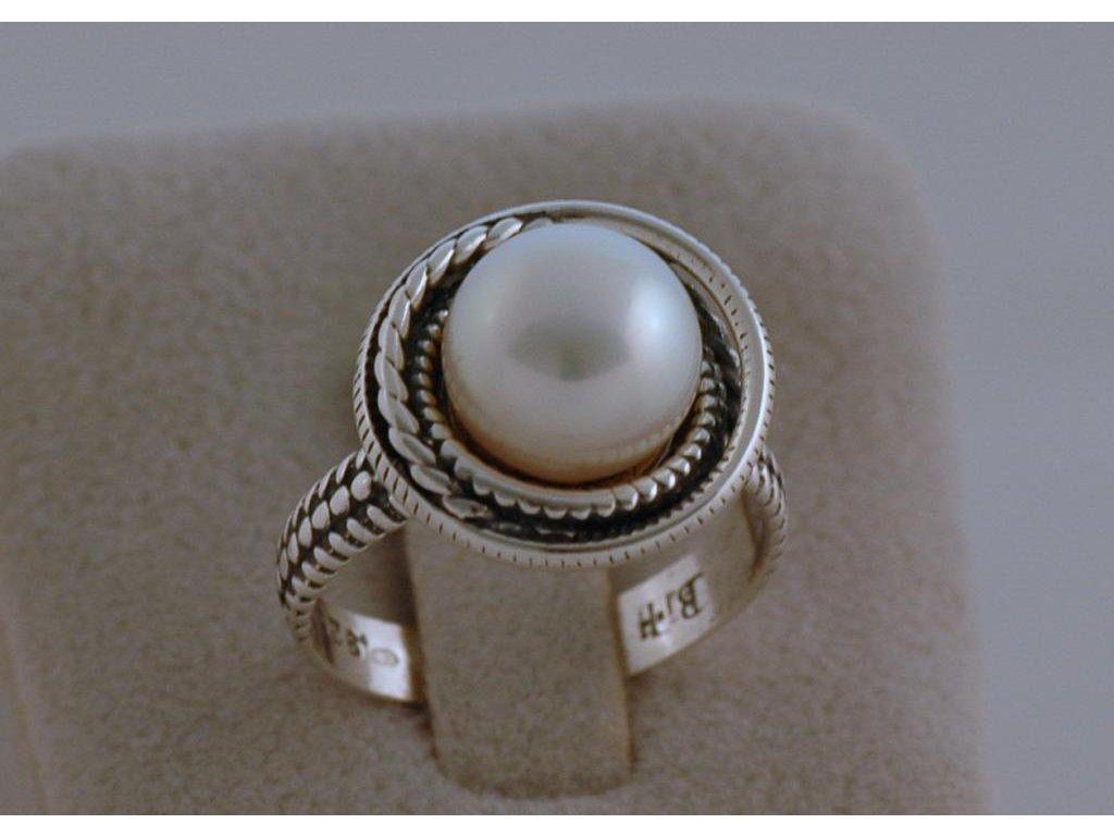 Stříbrný prsten Birgite