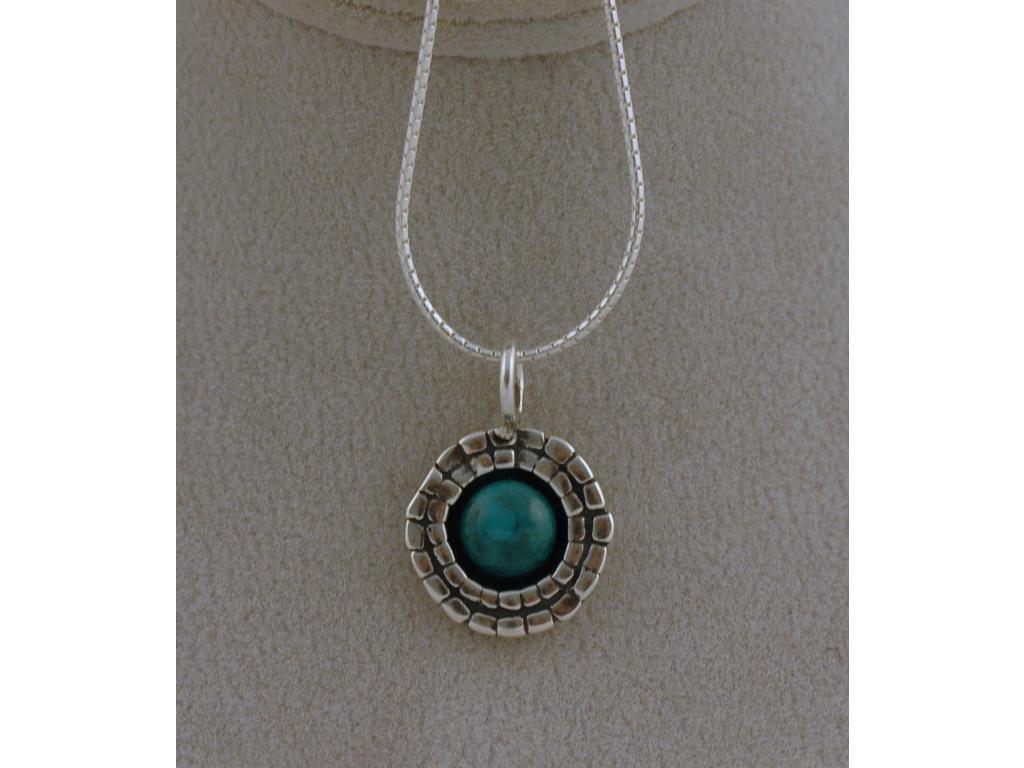 Stříbrný náhrdelník Una