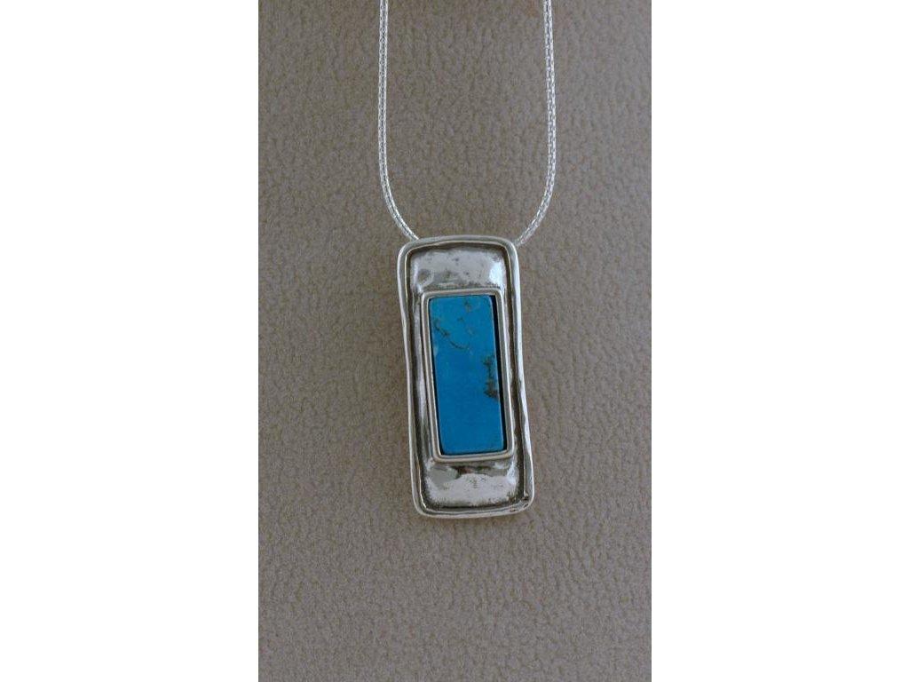Stříbrný náhrdelník Mirela