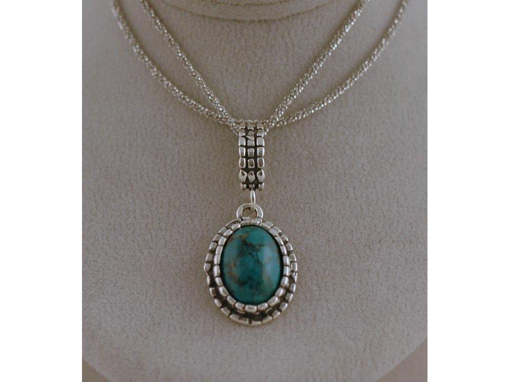 Stříbrný náhrdelník Melanie