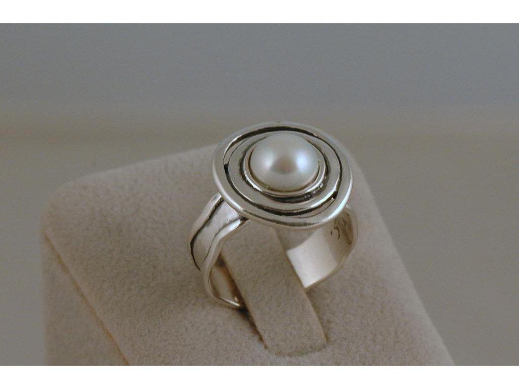 Stříbrný prsten Eugenie