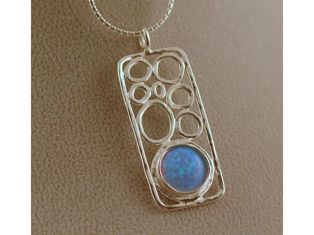 Stříbrný náhrdelník Ria