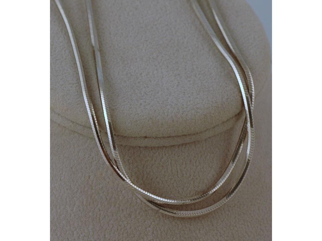 Stříbrný řetízek Nellis 2