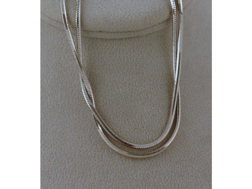 Stříbrný řetízek Nellis